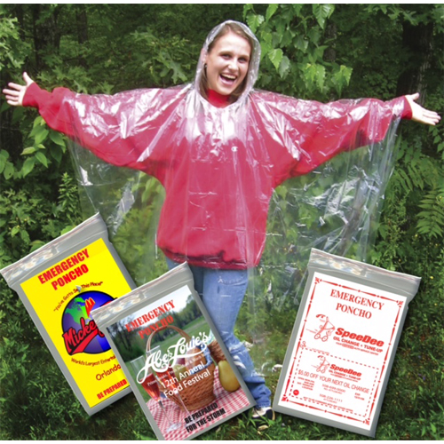 1200 - Glove Compartment Ponchos