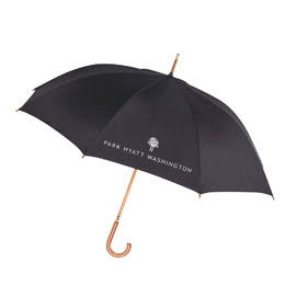 Deluxe Curved Handle Umbrella